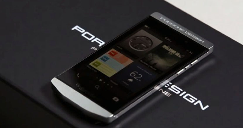 Blackberry Porshe Designe P'9982